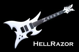 Monson HellRazor Guitar