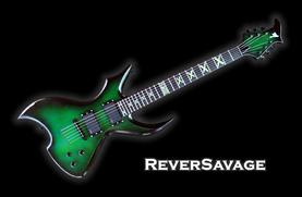Monson ReverSavage Guitar