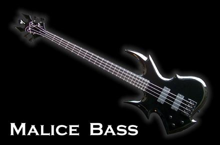 Monson Malice Bass Guitar LEFT handed