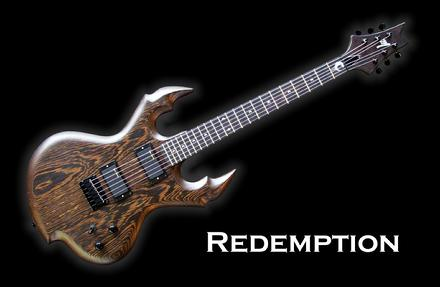 Monson Redemption Guitar Leviathan Wrest