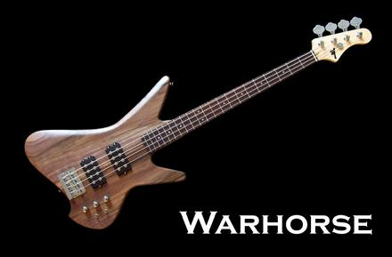 Monson Warhorse Bass Guitar