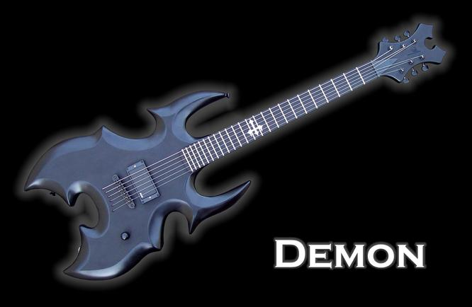 Monson Demon Guitar